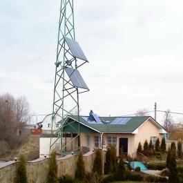 Солнечные модули для дома, солнечные панели и ветряк установка