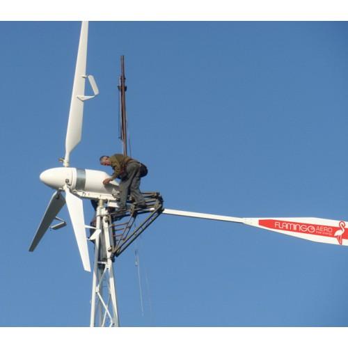 при превышении номинальной скорости ветра ветроагрегат - фото 2