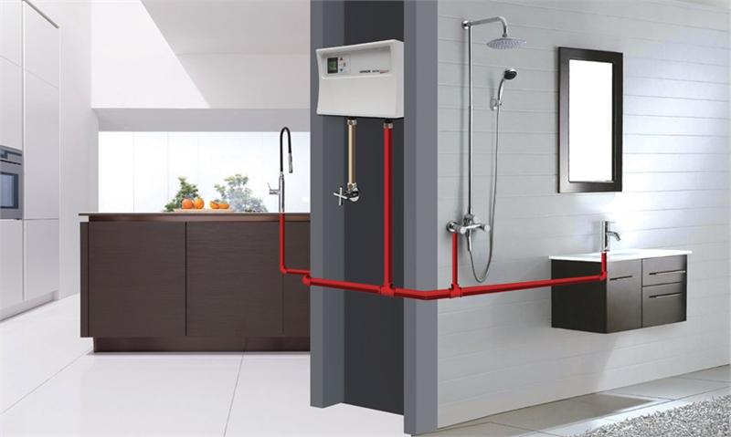 Проточный водонагреватель Атмор Инлайн 12 кВт