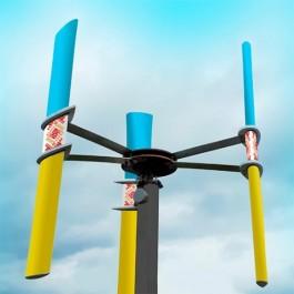 Ветрогенератор вертикальный ВЭГ800