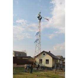 Ветряк для дома, монтаж ветроустановка для дома